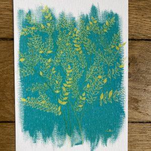 """Carte postale """"Forêt d'or"""" - 10x15"""